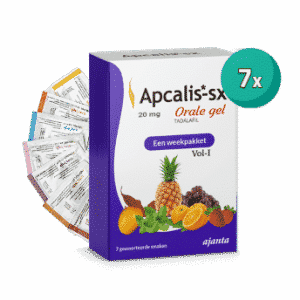 Apcalis Oral Jelly 7 Sachets