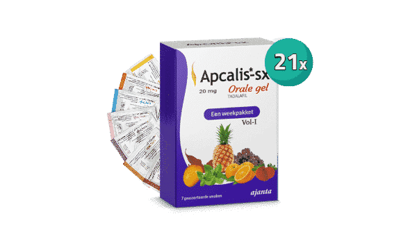 Apcalis Oral Jelly 21 Sachets