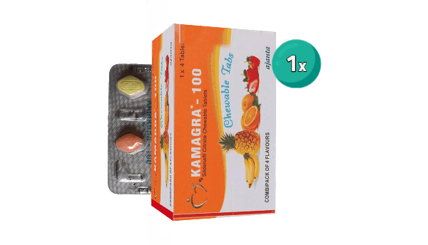 Kamagra Chewable 1 strip