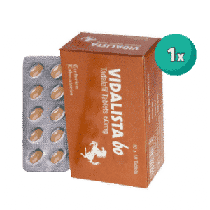 Vidalista 60 MG 1 Strip