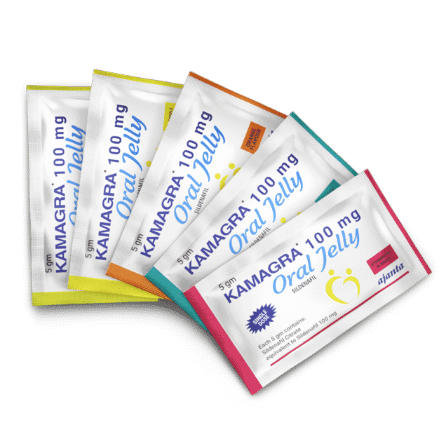 Kamagra Oral Jelly 5 Flavors