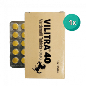 Vilitra 40MG 1 Strip